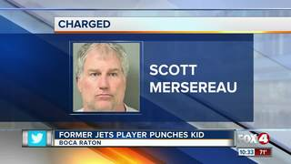 Former New York Jet's player punches teen