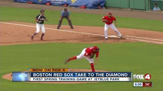 Red Sox open up Spring Training