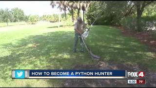 Becoming a Python Hunting