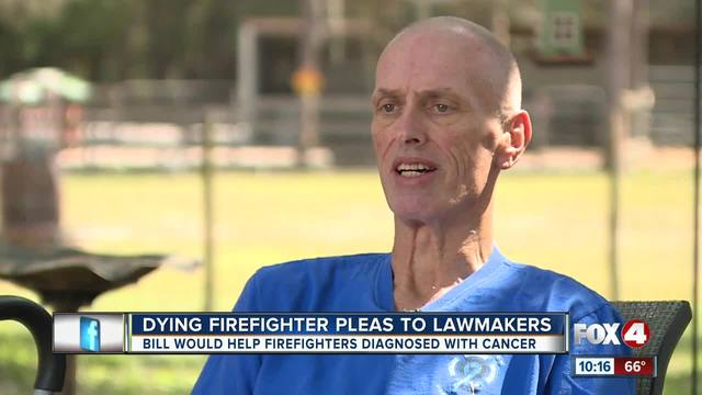 Dying firefighter pleas to lawmakers