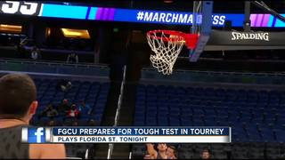 FGCU Men's Basketball Preparing for Tournament
