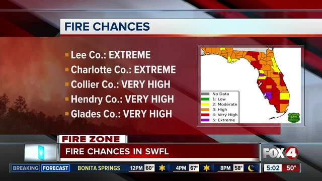 -Extremely- High Wildfire Chances Thursday