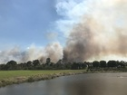 Fires in Charlotte County and San Carlos Park