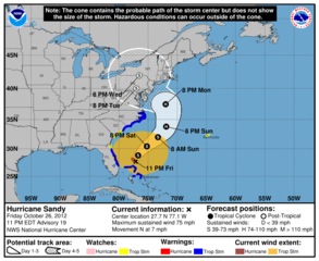 Hurricane Center has new look for storm forecast