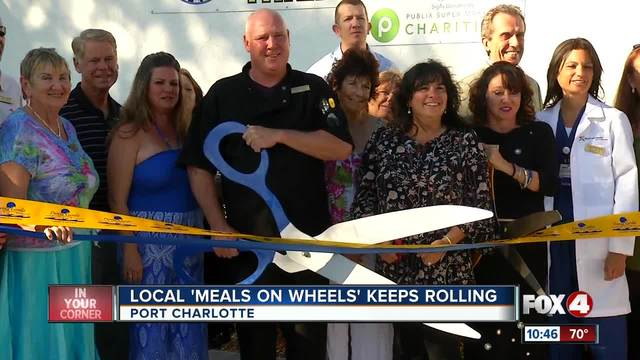Bigwigs chip in for Meals on Wheels