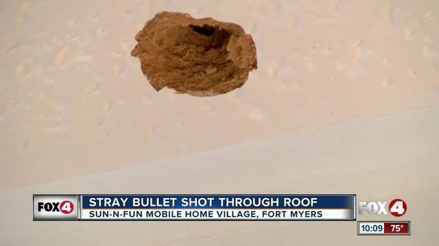 Stray bullet shot through Fort Myers home