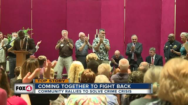 Families express concerns in community meeting about unsolved murders