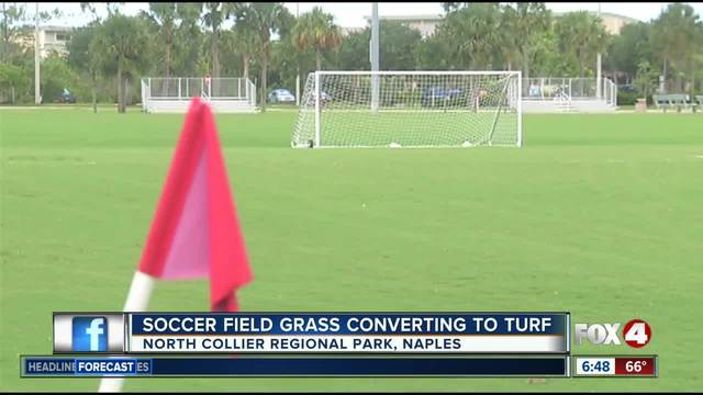 Naples park to get artificial turf soccer fields