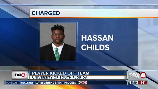 USF Player Cut From Team