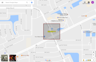 Here's how you can play Ms  Pac-Man on Google Maps in SWFL