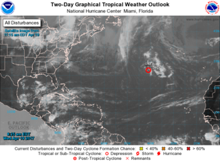 Rare April storm forms in the Atlantic