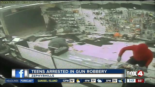 Teen Charged With Robbery