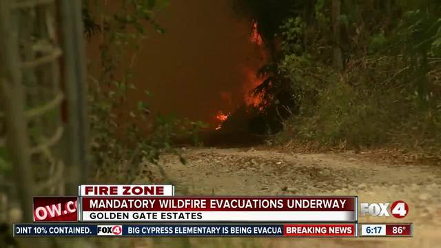 Mandatory evacuations for thousands of homeowners in Golden Gate Estates