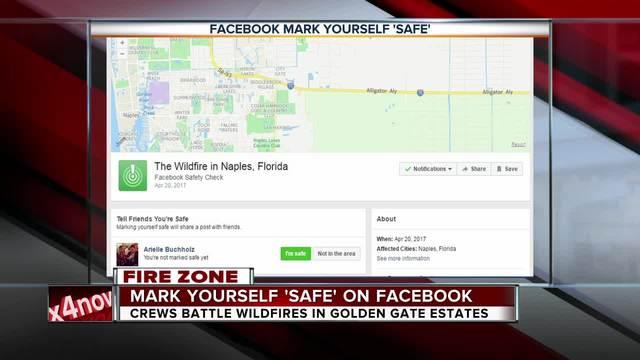 Facebook Mark Yourself Safe