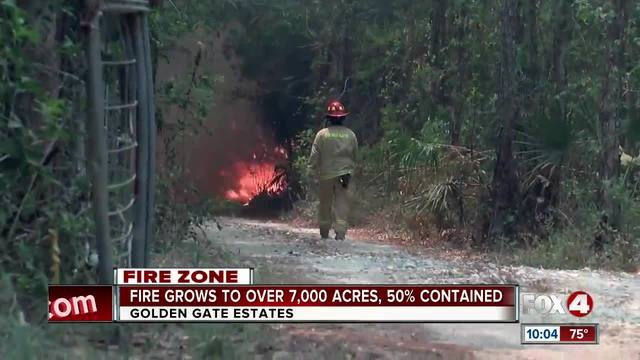Golden Gate Fire grows to 7-000- acres