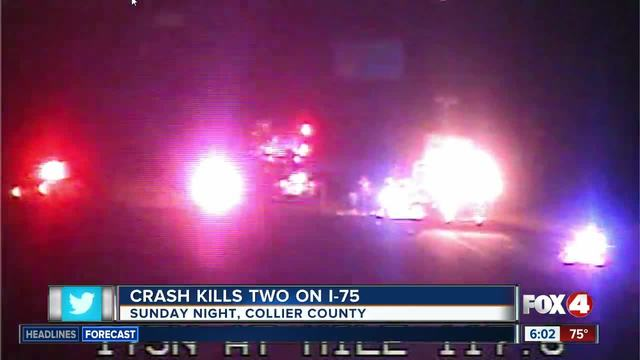 Two killed in I-75 crash, victims identified