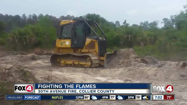 Collier County fire -- 7am Monday update
