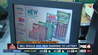 Lesiglature considers new lottery warning