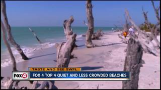 Best beaches for peace and quiet in SWFL