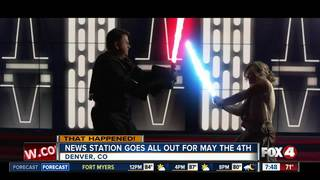 News station goes all out for May the 4th