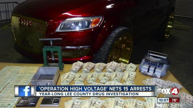16 arrests made in year long drug bust in Fort Myers
