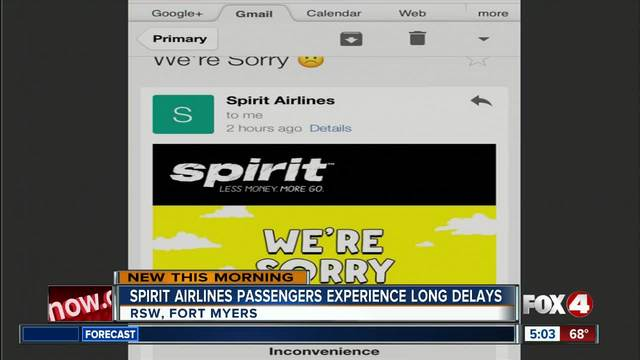 Airport chaos, flights canceled: Spirit Airlines apologizes
