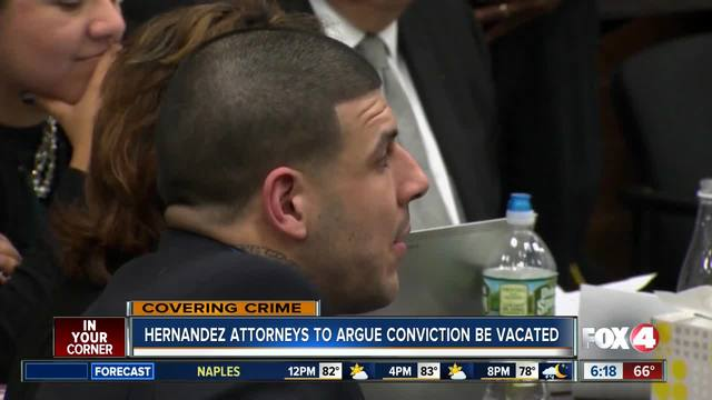 Judge expected to rule on request to erase Aaron Hernandez's murder conviction
