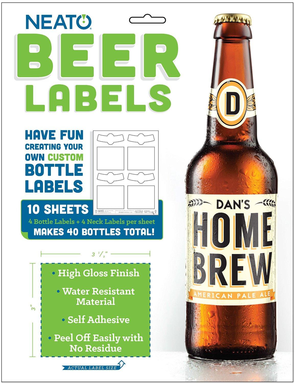 Beer Label Making Kit