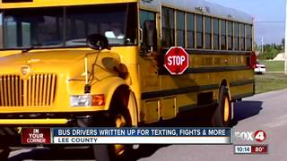 Bus drivers behaving badly in Southwest Florida