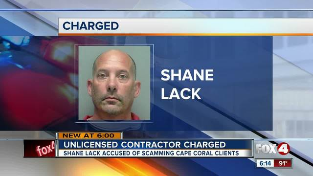 Unlicensed contractor scams dozens- gets arrested