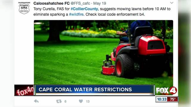 Cape Coral Water Restrictions