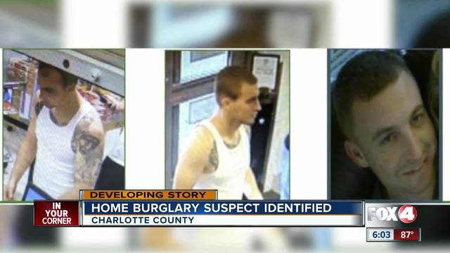 Suspect still at large in Charlotte County after multiple home break-ins