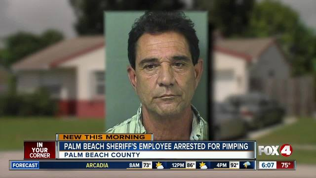 Sheriff-s office employee accused of being a pimp