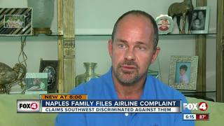 Man claims discrimination by airline employee