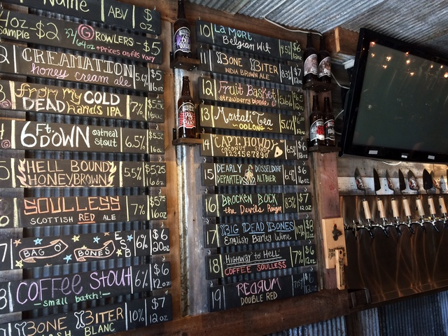 Craft Beer Thrives at Bury Me Brewing