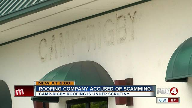 Cape Coral roofing contractor accused of scam