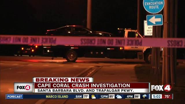 Serious crash on Santa Barbara Boulevard early Monday
