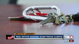 Real estate hacking scam tricks clients