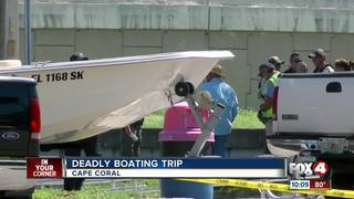 Boat crash leaves at least 1 seriously injured
