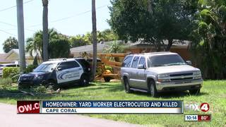 Man electrocuted in Cape Coral