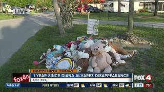 1 year since the disappearance of Diana Alvarez