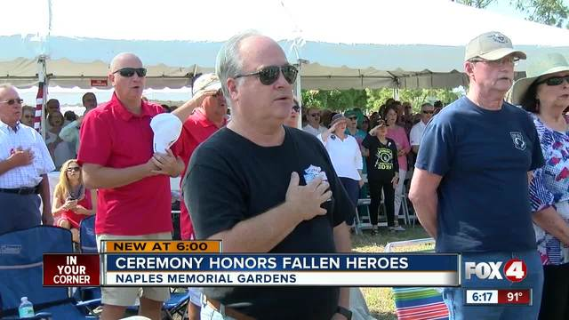 Memorial Day Ceremony Held at Iowa Veterans Cemetery