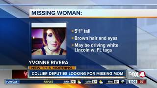 Collier mom still missing after son found safe