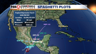 TD2 forms in the Eastern Pacific