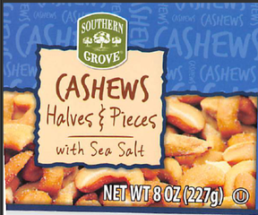 RECALL: Cashews sold at Aldi may contain glass