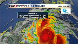 High chance of Gulf trop. development this week