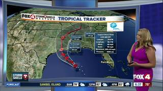 Tropical storm warning issued for Louisiana