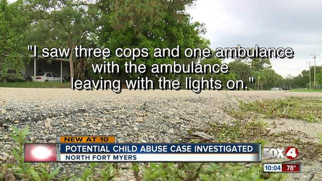 Report- Boyfriend was asked to supervise child who was rushed to the…