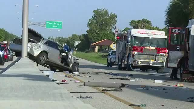 Serious crash shuts down Midpoint Bridge between Fort Myers and Cape Coral