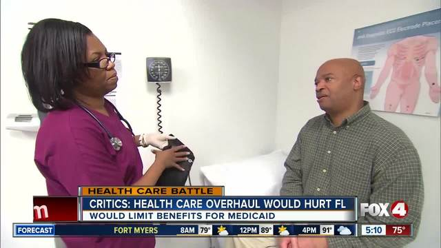 Critics warn health care bill could be disastrous for FL